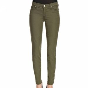 7 For All Mankind Olive Ankle Cut Skinny Jeans 27